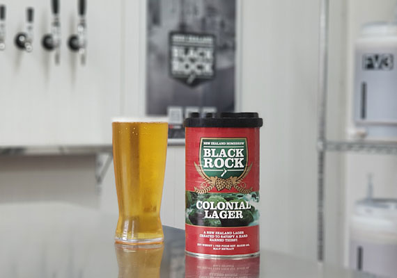 """BLACK ROCK """" COLONIAL LAGER """""""