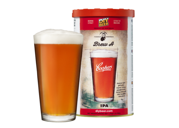 """THOMAS COOPERS SERIES """" BREW A IPA """""""