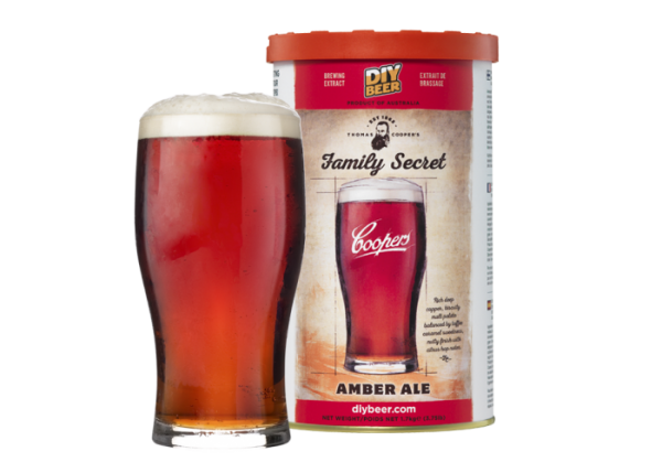 """THOMAS COOPERS SERIES """" FAMILY SECRET AMBER ALE """""""