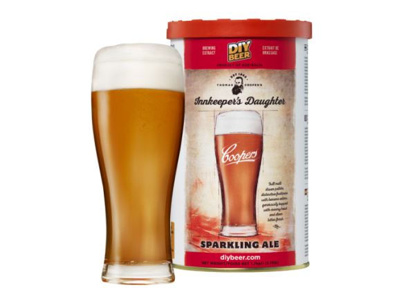 """THOMAS COOPERS SERIES """" INNKEEPER'S DAUGHTER SPARKLING ALE """""""