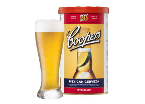 """COOPERS INTERNATIONAL SERIES """" MEXICAN CERVEZA """""""